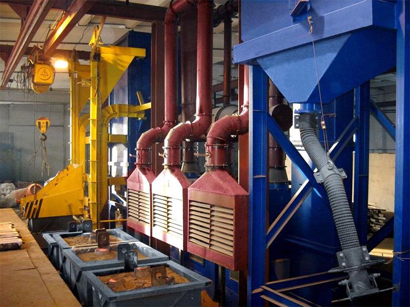 Установка вытяжных панелей для вентиляции промышленных помещений в Санкт-Петербурге